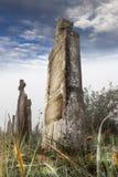 Lápida mortuoria Fotos de archivo libres de regalías