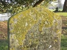 Lápida mortuoria antigua Imagen de archivo