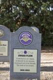 Lápida mortuoria del helado de Sugar Plum, fábrica del ` s de Ben y de Jerry Fotografía de archivo