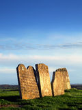 Lápidas mortuarias Foto de archivo
