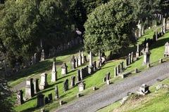 Lápidas mortuarias Foto de archivo libre de regalías