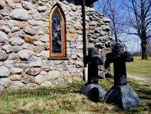 Lápidas mortuorias fotos de archivo