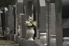 Lápidas mortuorias Fotografía de archivo libre de regalías