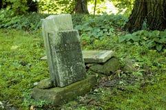 Lápidas mortuorias viejas Imagen de archivo