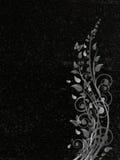 Lápide decorada do granito ilustração stock
