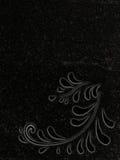 Lápide decorada do granito ilustração royalty free