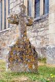 Lápide transversal de pedra Imagem de Stock Royalty Free