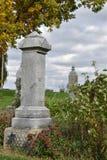 lápides 1800 do ` s em um cemitério do país imagem de stock royalty free