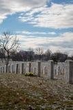 Lápides em Arlington 1 Fotografia de Stock Royalty Free