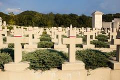 Lápides polonesas no cemitério de Lychakiv em Lviv, Ucrânia fotos de stock