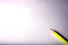 Lápis amarelo Foto de Stock Royalty Free