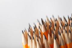 Lápis amarelos Foto de Stock Royalty Free