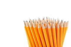 Lápis amarelos Imagens de Stock