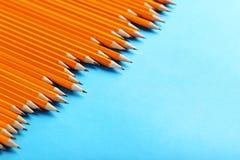 Lápis amarelos Foto de Stock