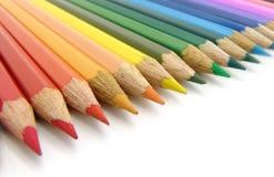 Lápis colorido Imagem de Stock Royalty Free