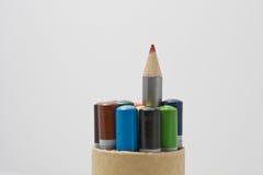 Lápis coloridos Imagem de Stock Royalty Free