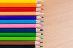 Lápis coloridos. Fotografia de Stock