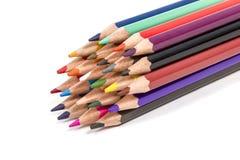 Lápis coloridos Fotos de Stock Royalty Free