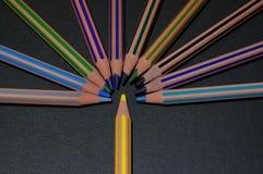 Lápis coloridos 2 Imagens de Stock Royalty Free