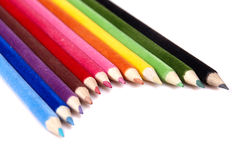 Lápis coloridos Fotos de Stock