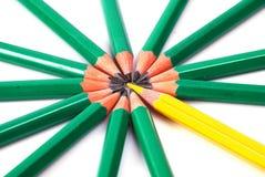 Lápis coloridos Imagens de Stock
