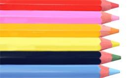 Lápis coloridos artistas Imagens de Stock Royalty Free