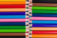 Lápis coloridos. Fundo. Fotografia de Stock