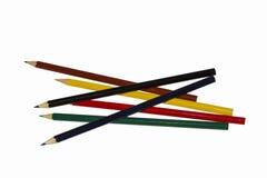 Lápis coloridos a tirar Fotografia de Stock Royalty Free