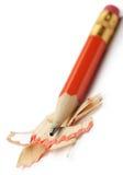 Lápis com uma rapagem Imagens de Stock Royalty Free