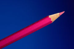 Lápis cor-de-rosa Fotos de Stock
