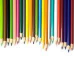 Lápis da coloração no fundo branco Foto de Stock Royalty Free