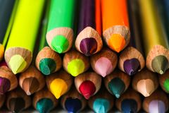Lápis da cor Foto de Stock