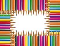 Lápis da cor Ilustração Stock