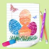 Lápis da cor Fotografia de Stock