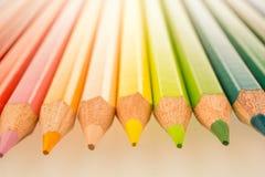 Lápis da cor Imagens de Stock