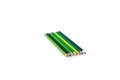 Lápis da cor de vários tons Imagens de Stock