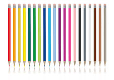 Lápis da cor - imagem do vetor ilustração do vetor