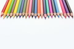 Lápis das cores Imagem de Stock