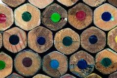 Lápis de madeira Foto de Stock Royalty Free