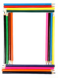 Lápis de madeira da cor fotos de stock
