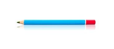 Lápis de madeira multicolorido em um ou lápis da cor do arco-íris Fotografia de Stock Royalty Free