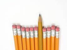 Lápis destacado Imagens de Stock