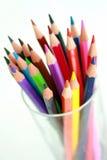 Lápis do arco-íris Foto de Stock