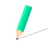 Lápis do desenho ilustração stock