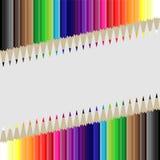 Lápis do fundo Imagem de Stock
