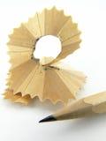 Lápis e microplaqueta Imagens de Stock Royalty Free