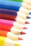Lápis em cores diferentes Fotografia de Stock