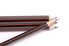 Lápis isolado no fundo branco Imagem de Stock