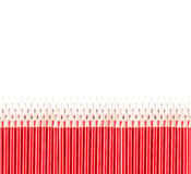 Lápis isolados no branco Imagem de Stock Royalty Free