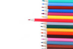 Lápis Many-colored Fotografia de Stock